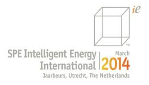 SPE Intelligent Energy<span> Utrecht, The Netherlands, 1-3rd April 2014</span>