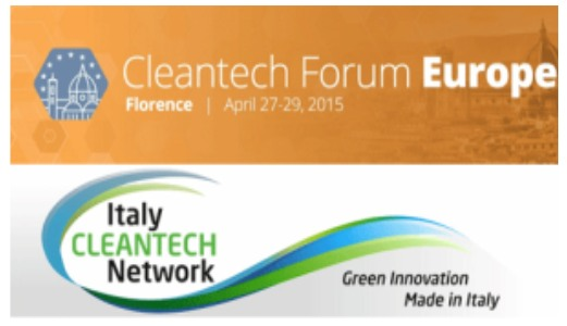 Cleantech Forum<span> Florence, Italy, 27-29th April 2015</span>