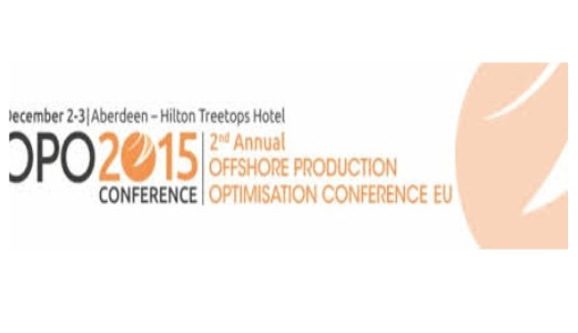 Offshore Productions Operations Conference<span> Aberdeen, UK, 2-3rd December 2015</span>