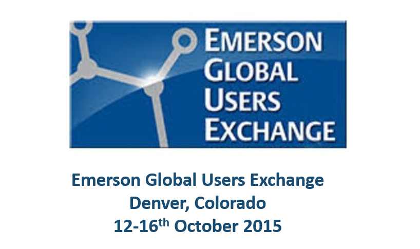 Emerson Exchange<span> Denver, Colorado, 12-16th October 2015</span>