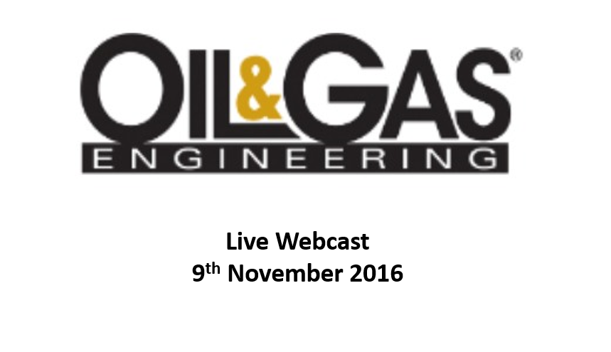 IIoT and the Digital Oilfield: Making Data Actionable<span> Online, 9th November 2016</span>