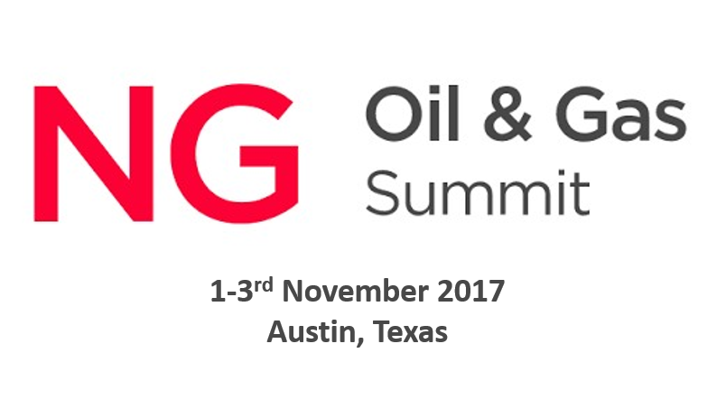 NG Oil and Gas, GDS Summit<span> Austin, Texas,1-3rd November 2017</span>